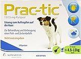 Elanco Deutschland GmbH Prac tic für Kleine Hunde 4,5-11 kg Einzeldosispip 3 Stk