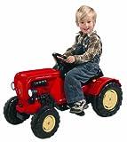 Big 800056560 Porsche Diesel Junior Traktor, 88 x 46 x 54 cm, rot -