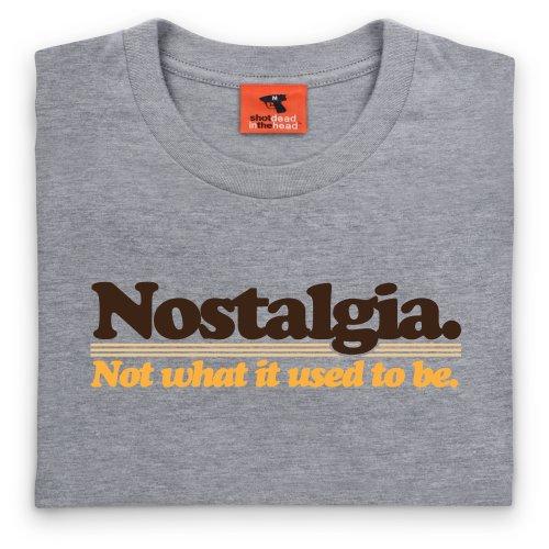 Nostalgia T-Shirt, Herren Grau Meliert