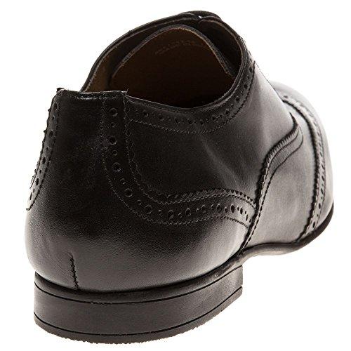 Ben Sherman Apol Oxford Brogue 2 Homme Chaussures Noir Schwarz