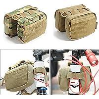 Bazaar Bag tubo della bicicletta telaio anteriore borsa a tracolla borsa zaino sella camo valigia per il