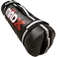 Saco de arena para entrenamiento MADX de 0 a 30kg, negro/gris, 30kg
