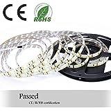 Auralum 5m SMD 2835 600 LED da 12V 72W 7500LM IP65 polvere ermetico impermeabile dust proof bianco freddo lampadina LED Band striscia luci tubo flessibile