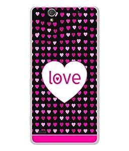 PrintVisa Designer Back Case Cover for Sony Xperia C4 (Love Lovely Attitude Men Man Manly)