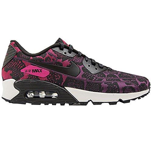 nike air max 90 JCRD womens trainers 749326 sneakers shoes (uk 7 us 9.5 eu 41, mulberry black sport fuchsia summit white 500)
