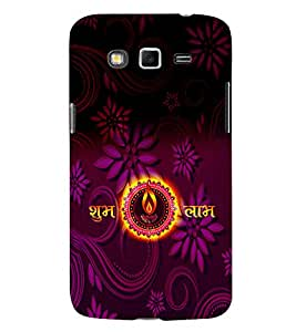 Subh Labh Design 3D Hard Polycarbonate Designer Back Case Cover for Samsung Galaxy Grand 2 G7102 :: Samsung Galaxy Grand 2 G7106