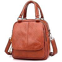Hffan Damen Mädchen PU-Leder Elegant Mode Reißverschluss Rucksackhandtaschen Schultertaschen Ornamente Freizeit... preisvergleich bei billige-tabletten.eu