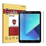 OMOTON Panzerglas Schutzfolie für Samsung Galaxy Tab S2 9.7 & Samsung galaxy Tab S3 mit [9H Härte][ Anti-Kratzen][Kristall-klar][Bläschenfrei zu Montage][lebenslange Garantie]
