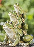 Frosch Figur 13cm aus Kunstharz - Drei Lustige Frösche