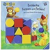 Entdecke Formen und Farben!: Mein erstes Formen-Sortier-Spielbuch