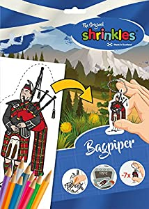 Shrinkles Shrinkles-WZ088 wz088 Original Escocia Bagpiper Slim Pack, Color Desconocido (Keycraft