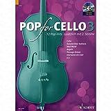Pop for Cello 3 - arrangiert für Violoncello - (für ein bis zwei Instrumente) - mit CD [Noten/Sheetmusic]