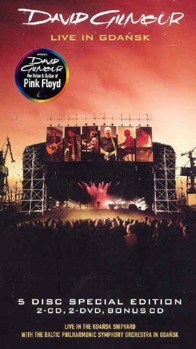 Live in Gdansk (5-Disc Limited Edition) (3CD + 2 DVD Set) by David Gilmour
