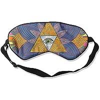 Schlafaugenmaske, Psychedelisches Muster, Schlafmaske für Reisen, Mittagsschlaf oder Mediation oder Yoga preisvergleich bei billige-tabletten.eu