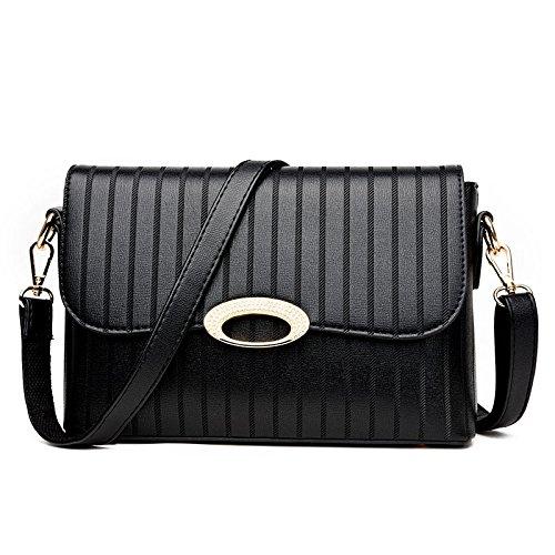 Mefly Eine Neue Single Schulter Tragbare Kleine Multifunktionale Tasche Tasche Tasche Alle-Match black