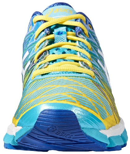 Asics , Chaussures de running pour homme Yellow/White/Turquoise
