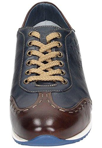 Galizio torresi chaussures pour homme-bleu/marron Bleu