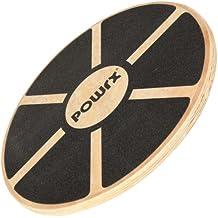 Balance Board Wackelbrett aus Holz für propriozeptives Training und Physiotherapie Therapie-Kreisel