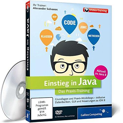 Einstieg in Java - Das Praxis-Training aktuell zu Java 8 Einstiegs-video
