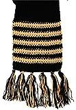 asagat Crochet and Knitting Handloom Woolen Women's Muff (Black and Brown, XL)