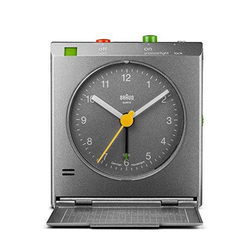 Braun - Despertador viaje clásico detector movimiento