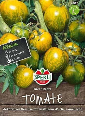 Sperli Tomate Green Zebra