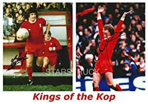 Liverpool FC Legends Kevin Keegan and Kenny Dalglish Signed (Pre-Printed) Exclusive A4 Print by STARSTRUCK
