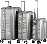 Yearz by march Fly 4-Rad Trolley-Set 3tlg. silber