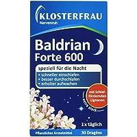 Klosterfrau Nervenruh Baldrian Forte 600, 30 Dragées preisvergleich bei billige-tabletten.eu