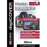 digiCOVER Hybrid glass Film de Protection d'écran pour Nikon D7100/D600