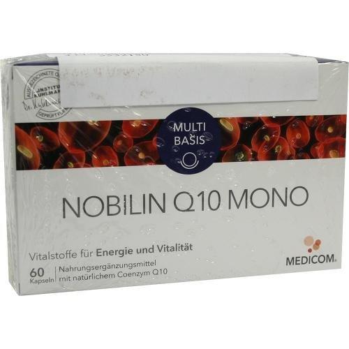 NOBILIN Q10 Mono Kapseln 120 St Kapseln