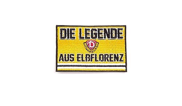 SG Dynamo Dresden Aufnäher Die Legende aus Elbflorenz Aufnäher Patch Label