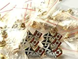 Sac de 50 x Écosse & Canada amitié Nouveau Design Émail Pins broche badge