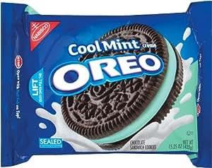Oreo Cool Mint Creme Cookies - 482g aus USA!