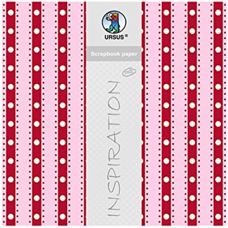 Scrapbook Paper Lotta 1, env. 30,5 x 30,5 cm, cm, cm, 5 Feuilles 73d366