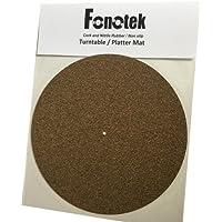 Fonotek Cobertor de plato de tocadiscos - CAUCHO y CORCHO - 1,5mm de grosor