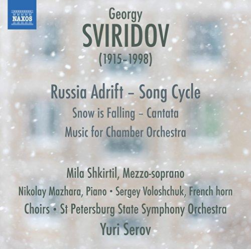 Russia Adrift, mélodies sur des textes de Sergey Yesenin - Musique pour orchestre de chambre - Snow is Falling, petite cantate sur un texte de Boris Pasternak