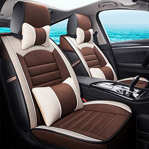 CNANOO Coprisedili per Auto Accessori Interni Auto per Toyota Land Cruiser 100 120 200 Lc200 Prado 120 150 Premio Prius 20 30 Rav4