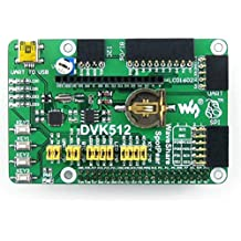 Waveshare DVK512 Raspberry-pi Expansion Development Board Kit for Raspberry Pi Model A+/B+/2 B Expansion Various Interfaces