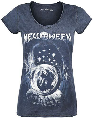 Helloween Pumkins Embrion Camiseta Azul M