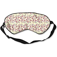 Comfortable Sleep Eyes Masks Red Small Flower Printed Sleeping Mask For Travelling, Night Noon Nap, Mediation... preisvergleich bei billige-tabletten.eu