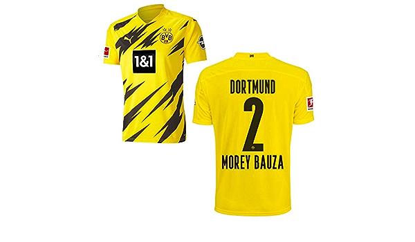 Puma Borussia Dortmund BVB - Maglia per partite in casa 2020 2021, Sponsor BL con logo, da uomo e da bambino, colore: Giallo