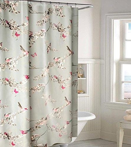 GYMNLJY Ispessimento poliestere impermeabile doccia tenda bagno tagliato tenda doccia Hanging , 300*200