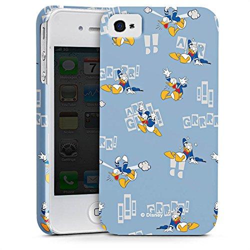 Apple iPhone X Silikon Hülle Case Schutzhülle Disney Donald Duck Geschenke Fanartikel Premium Case glänzend