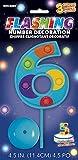 Lampeggiante Numero 6 Topper Torta Decorazione
