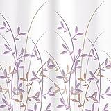 Tatkraft Immanuel Olive Cortina Ducha 180 X 180 cm material PEVA 12 Anillos