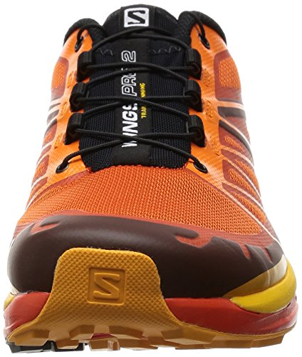 Salomon Wings Pro 2, Scarpe da Corsa Uomo tomato red-clementine-x-yellow-gold