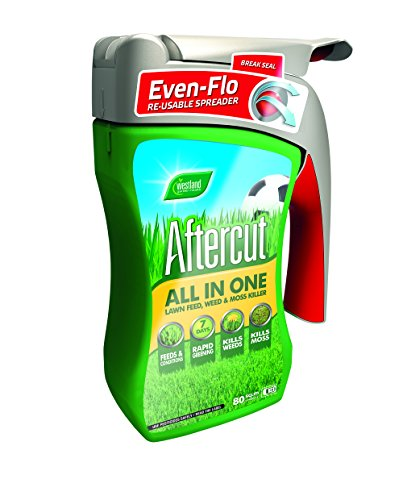 aftercut-all-in-one-lawn-feed-weed-and-moss-killer-even-flo-spreader-80-sq-m-28-kg
