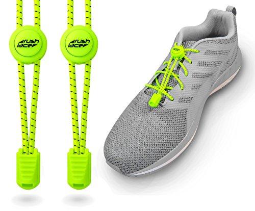 Schnellverschluss Schnellverschlusssystem für Schnürsenkel Sneaker Grau