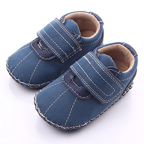 Leap Frog , {Chaussures premiers pas pour bébé (garçon) Bleu bleu 0-6 mois bleu